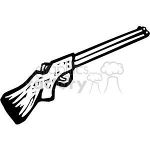 Clipart gun shotgun. Black and white royalty