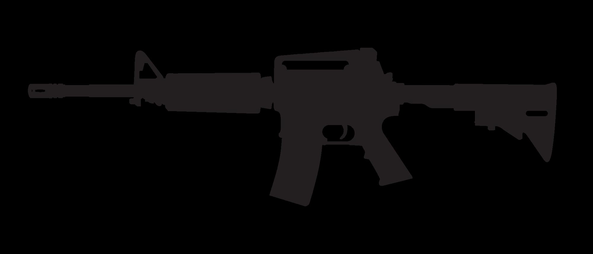 Clipart gun silhouette. Colt at getdrawings com