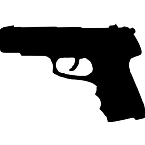 Clipart gun silhouette. Free guns cliparts download