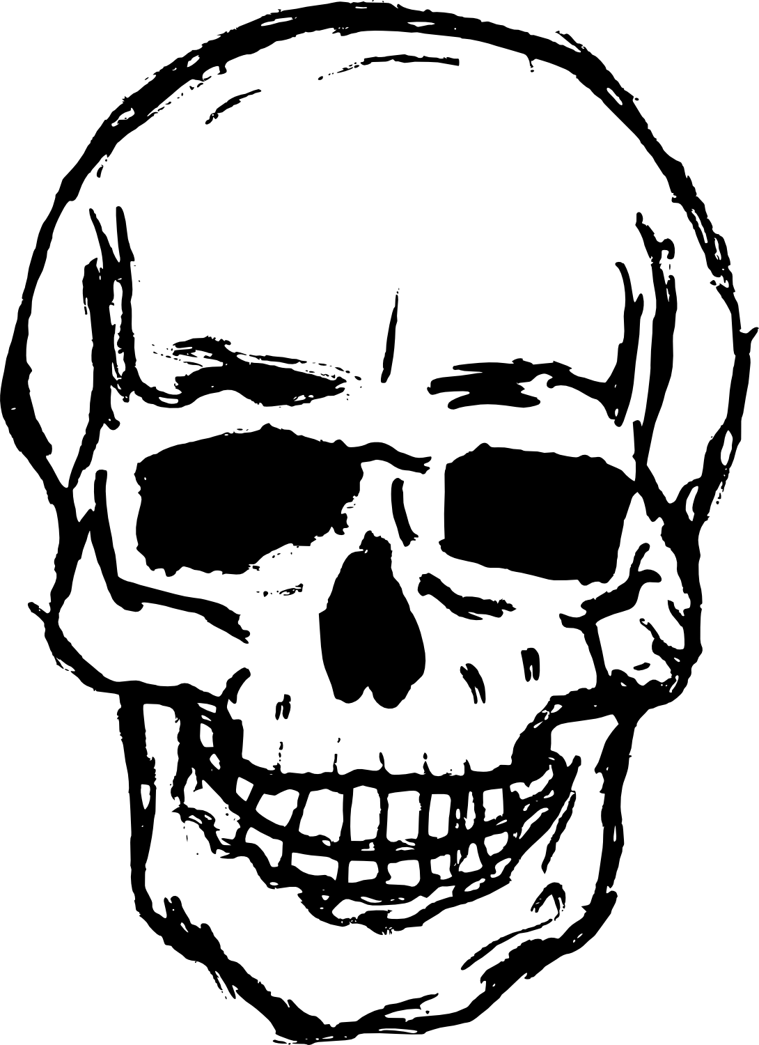 Youtube clipart skull. Drawing images at getdrawings