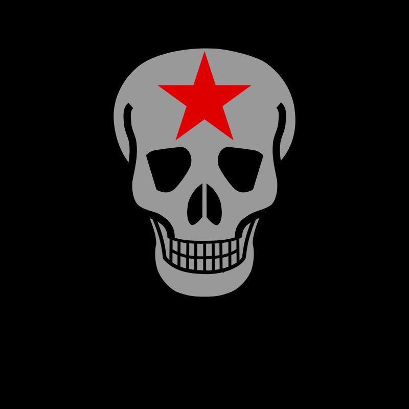 And crossed guns medium. Clipart gun skull