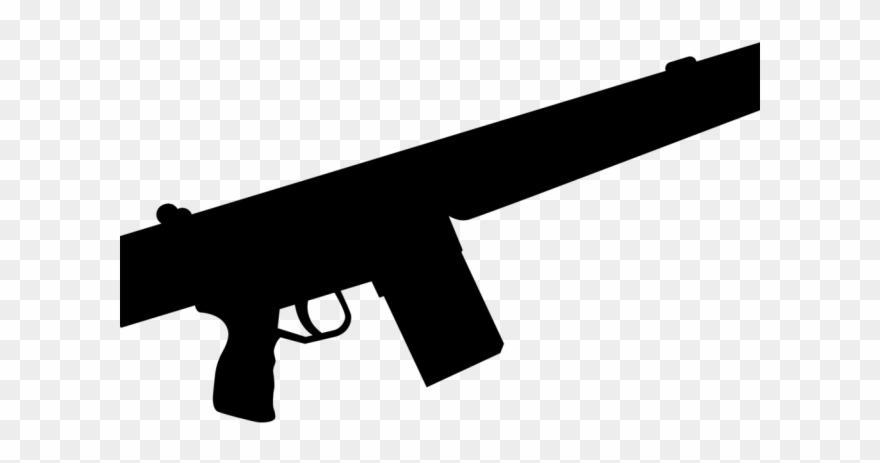 Pistol machine png download. Clipart gun submachine gun