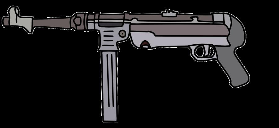 Clipart gun submachine gun.  collection of machine