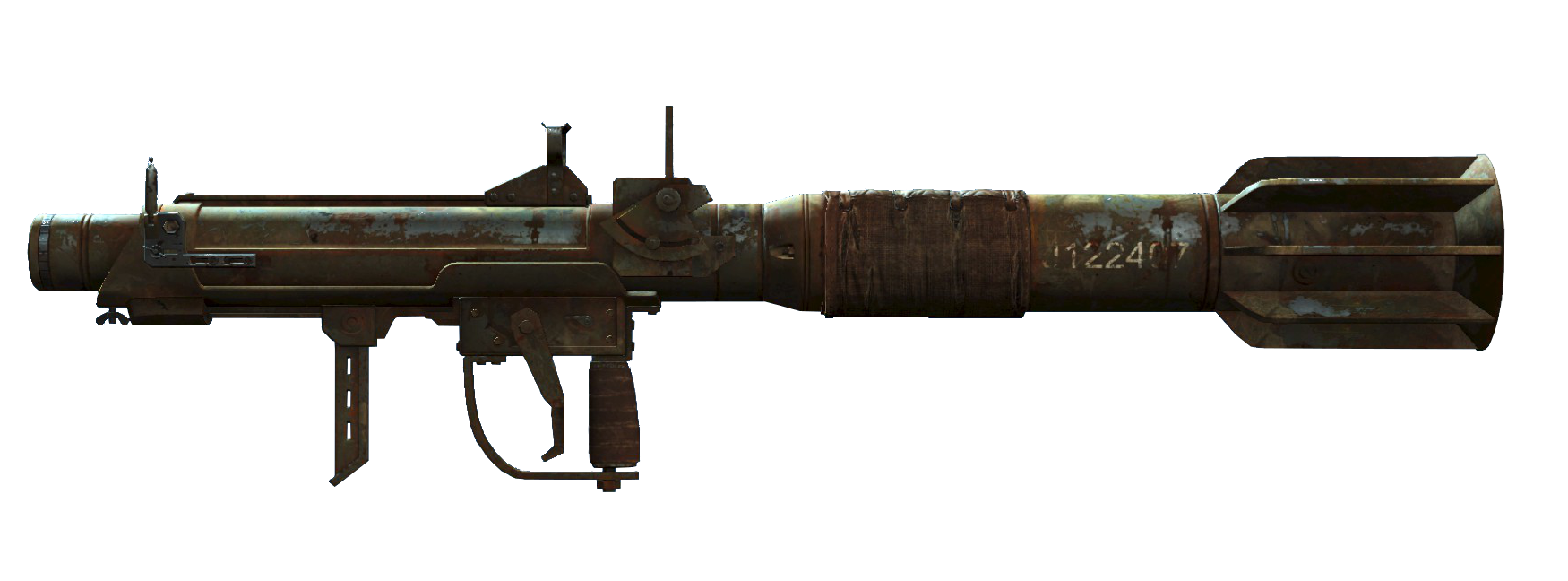 Clipart gun submachine gun. Missile launcher fallout wiki