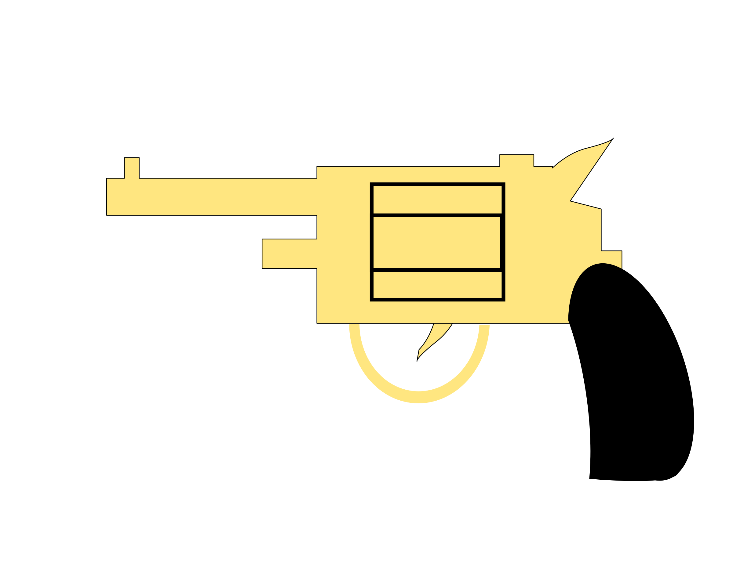 Clipart gun svg. Pistol icons png free