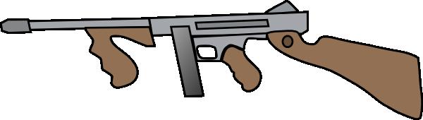 Clipart gun tommy gun. Png svg clip art