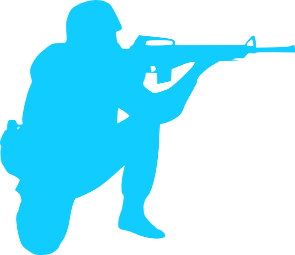 Soldier silhouette clip art. Soldiers clipart army officer