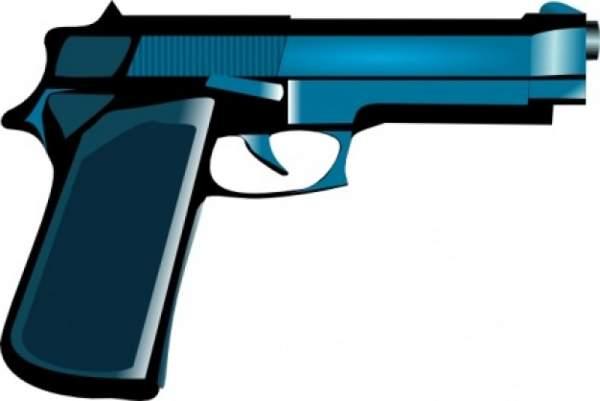Station . Clipart gun toy