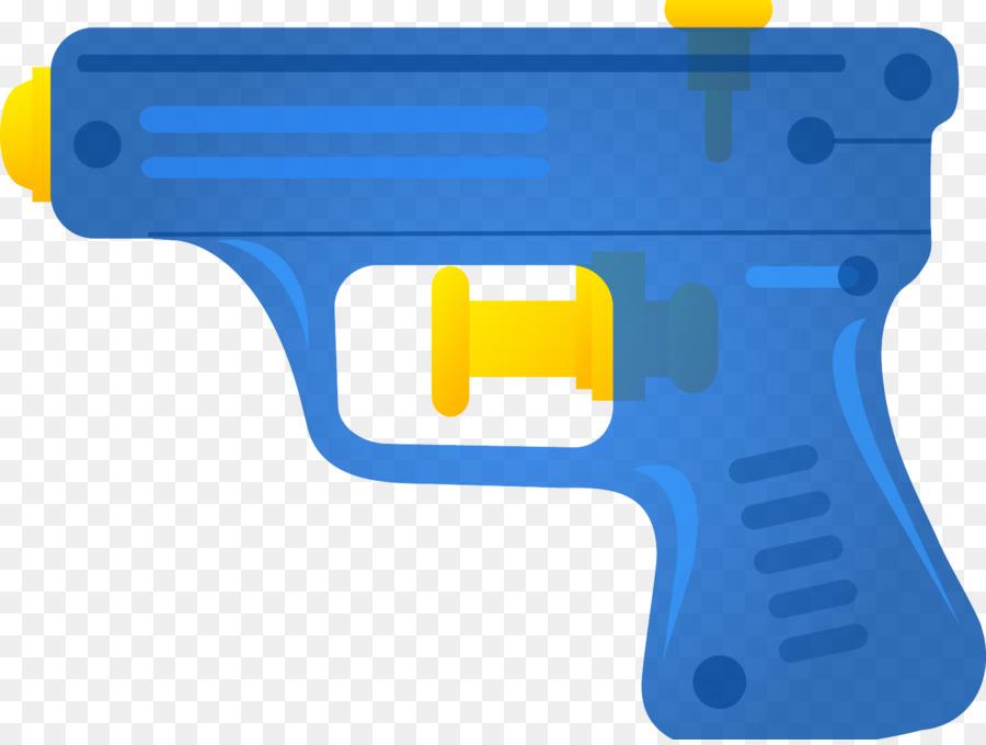 Clipart gun toy. Cartoon yellow product transparent