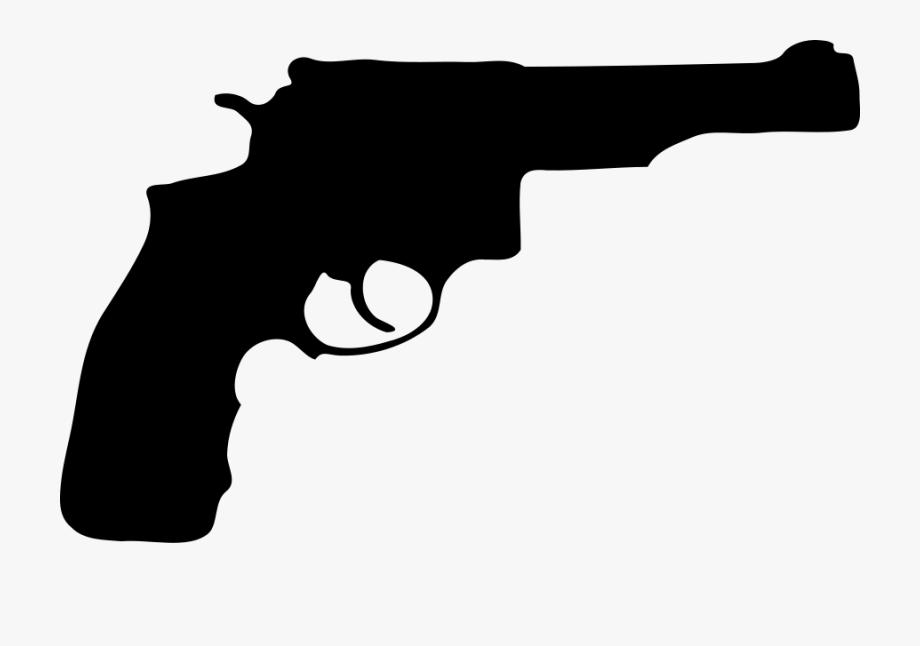 Pistol clipart transparent. Gun background cartoon