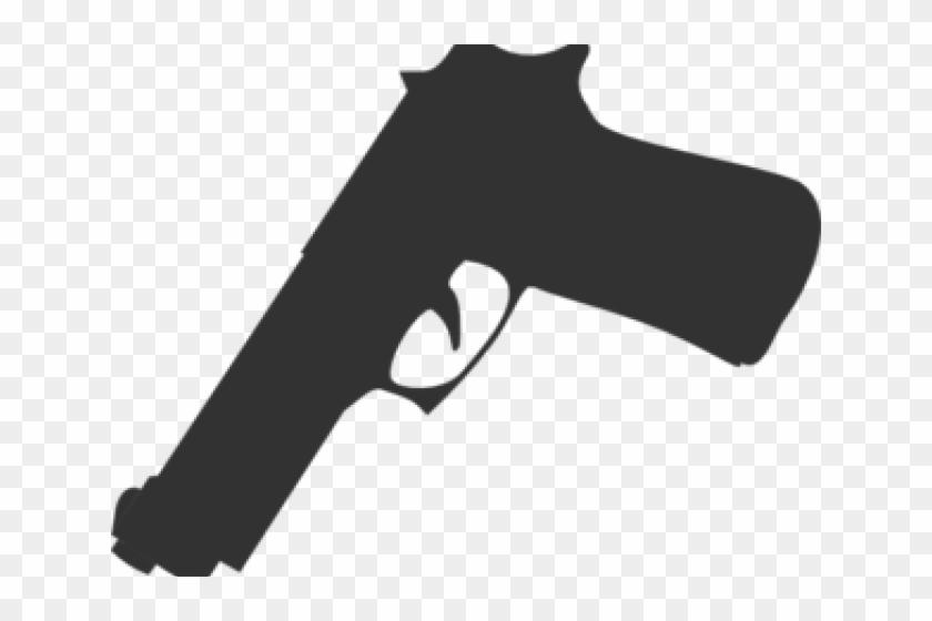 Silhouette cliparts gun . Guns clipart transparent background