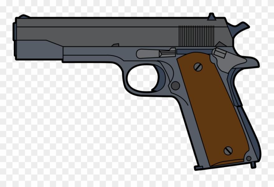 Background gun png download. Pistol clipart transparent