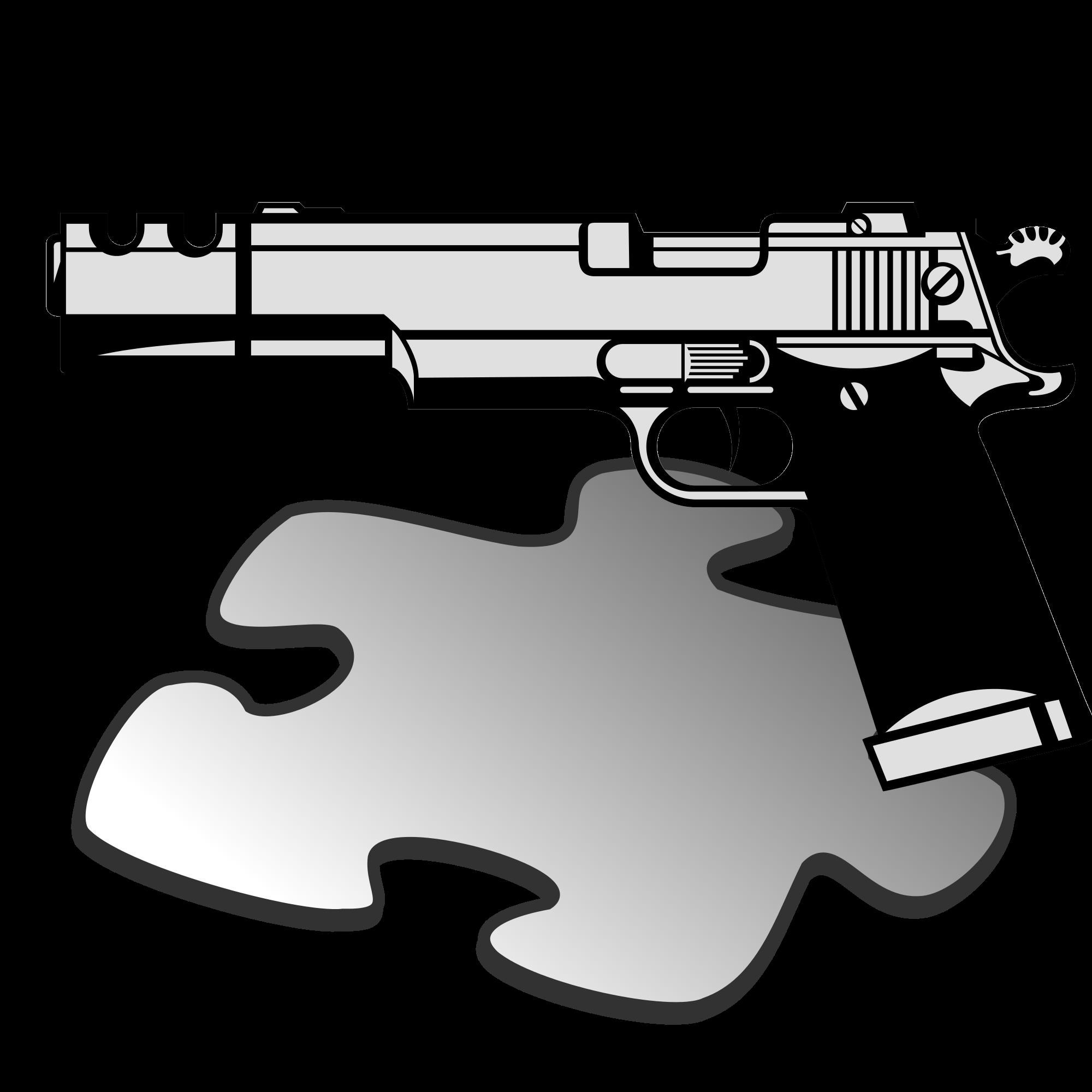 File pistol template svg. Clipart gun uzi