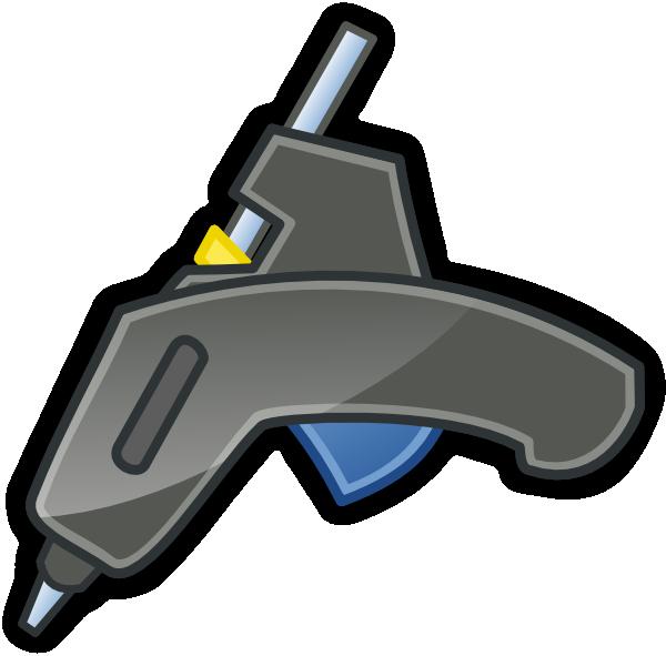 Glue clip art panda. Clipart gun vector