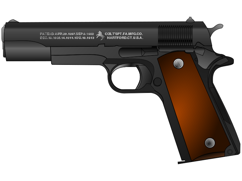 Clipart gun vector. Weapon transparent pencil and