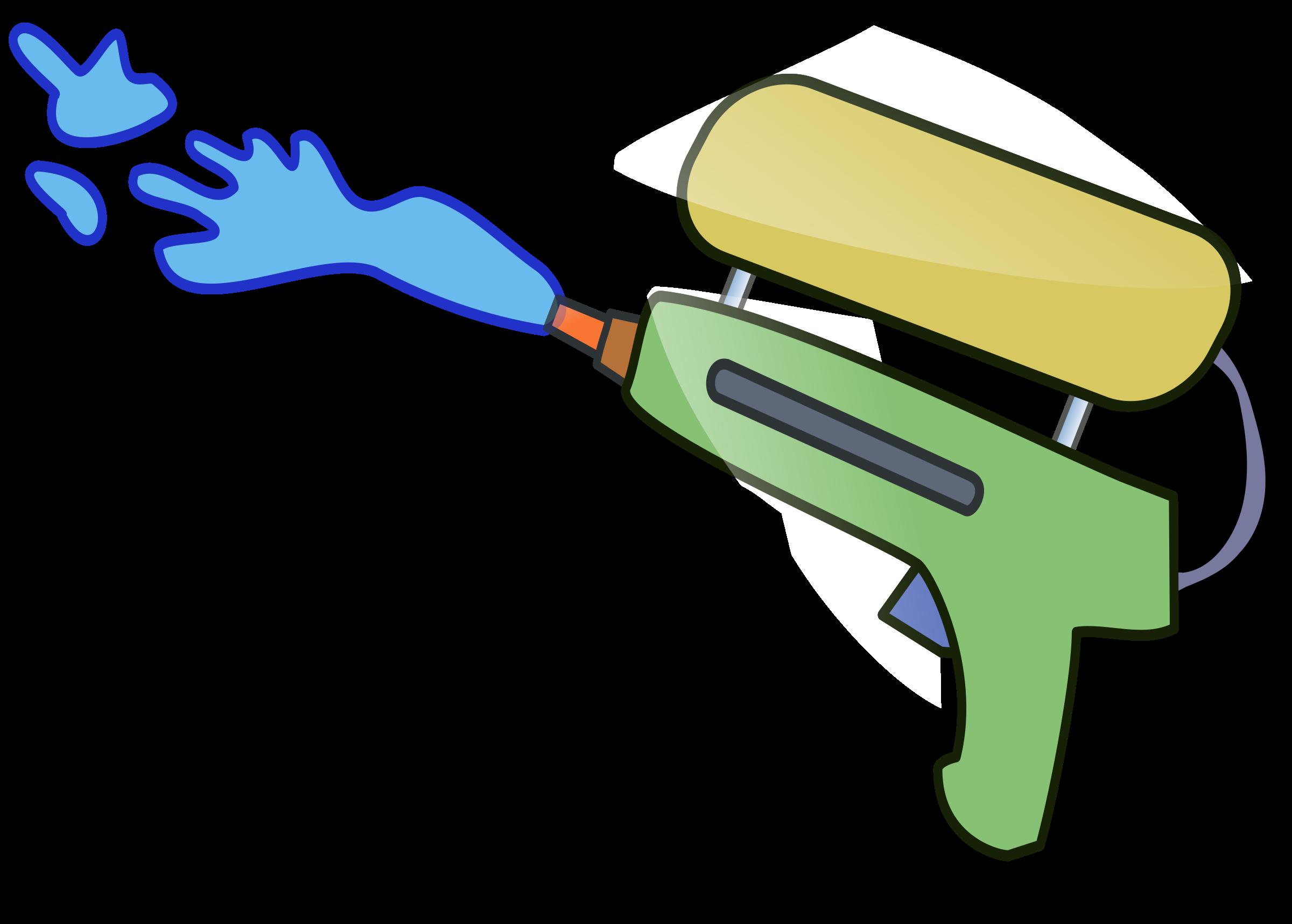 Clip art openclipart product. Guns clipart water gun
