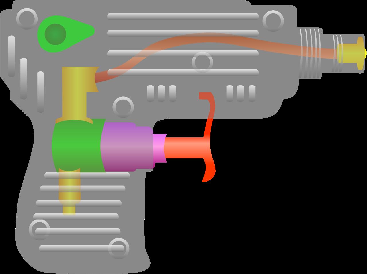 Gun water gun