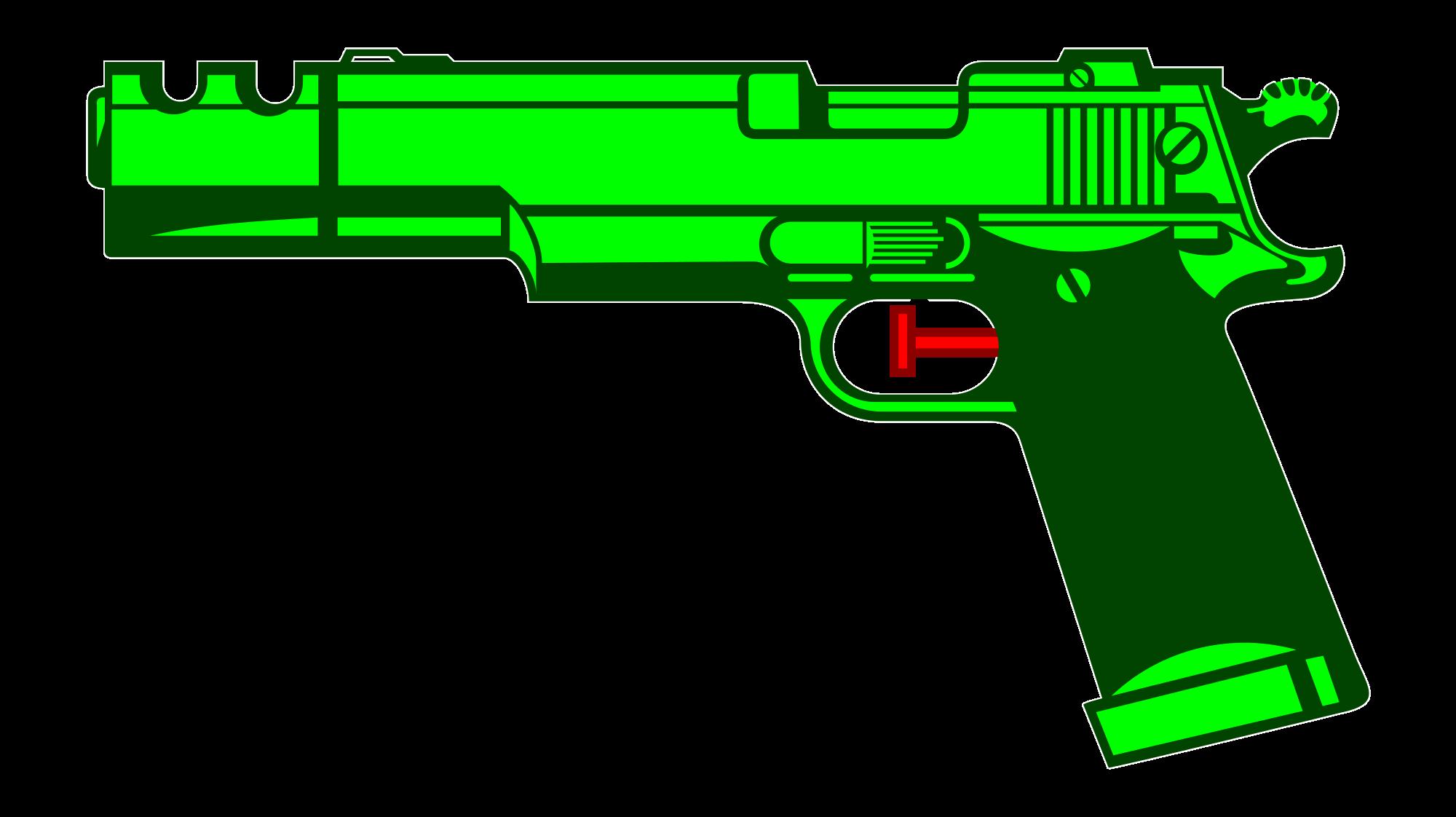 File gun svg wikimedia. Water clipart silhouette