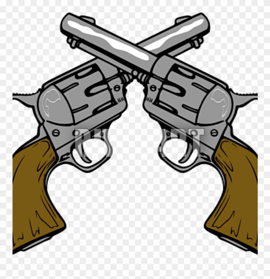 Guns clip art cowboy. Clipart gun wild west
