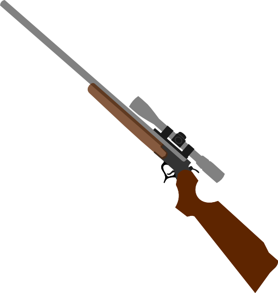 Gun clipart sniper.  collection of rifle