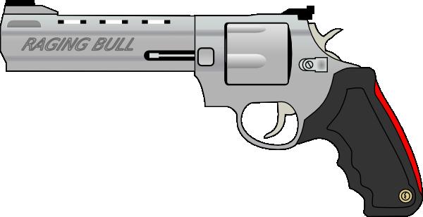 Clipart gun. Pistol clip art at