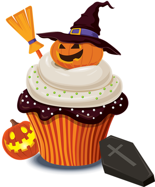 Clipart halloween baked goods. Tubes