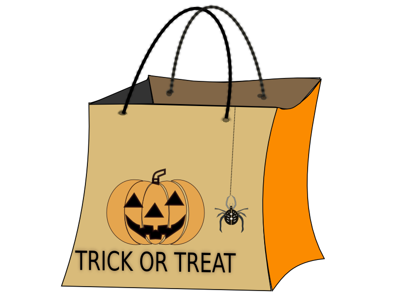 Halloween Bag Clip Art