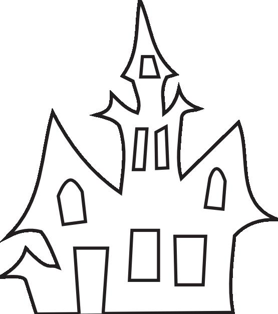 Clipartist net clip art. Clipart halloween black and white