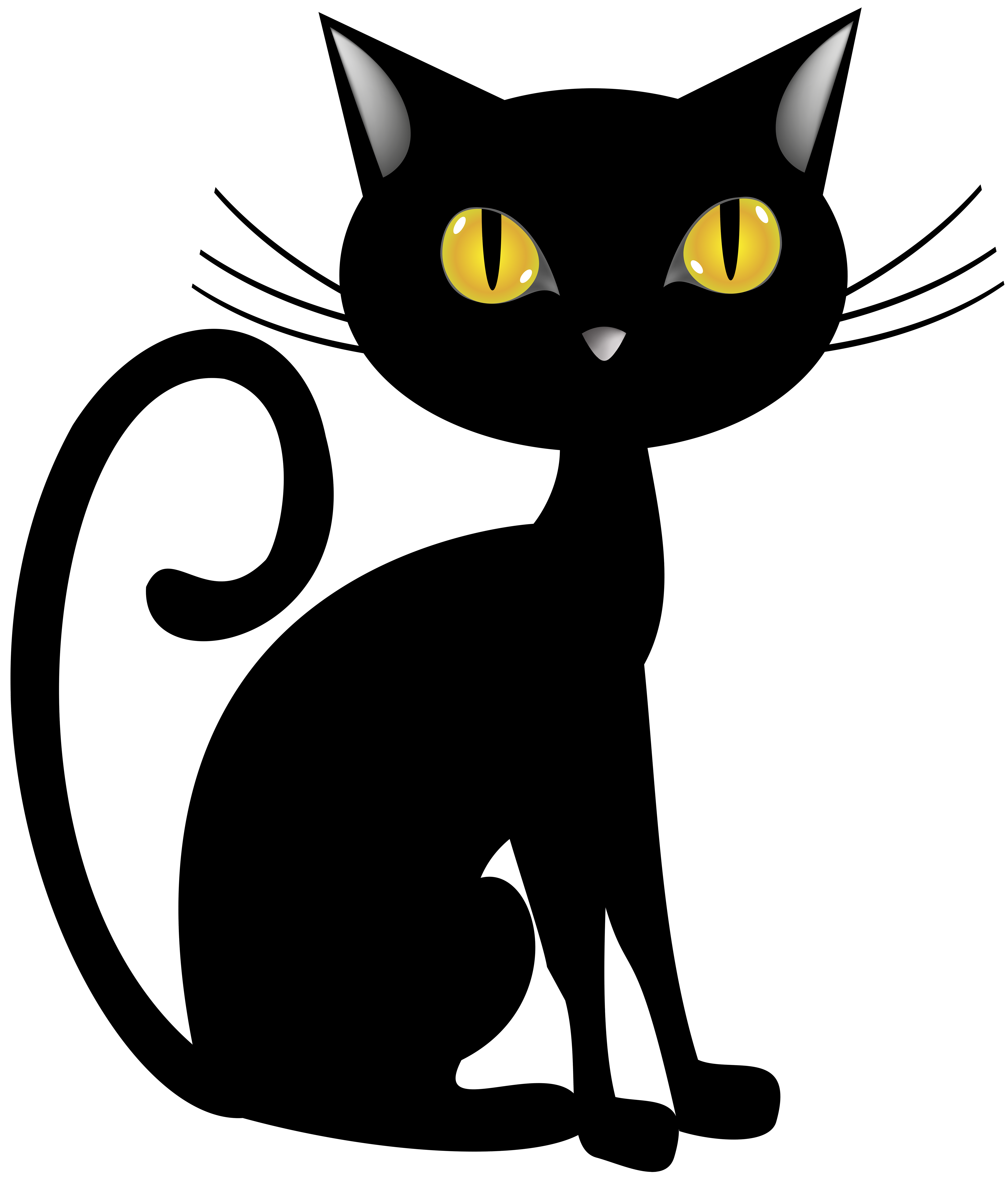 Clipart Halloween Black Cat Clipart Halloween Black Cat Transparent Free For Download On Webstockreview 2020