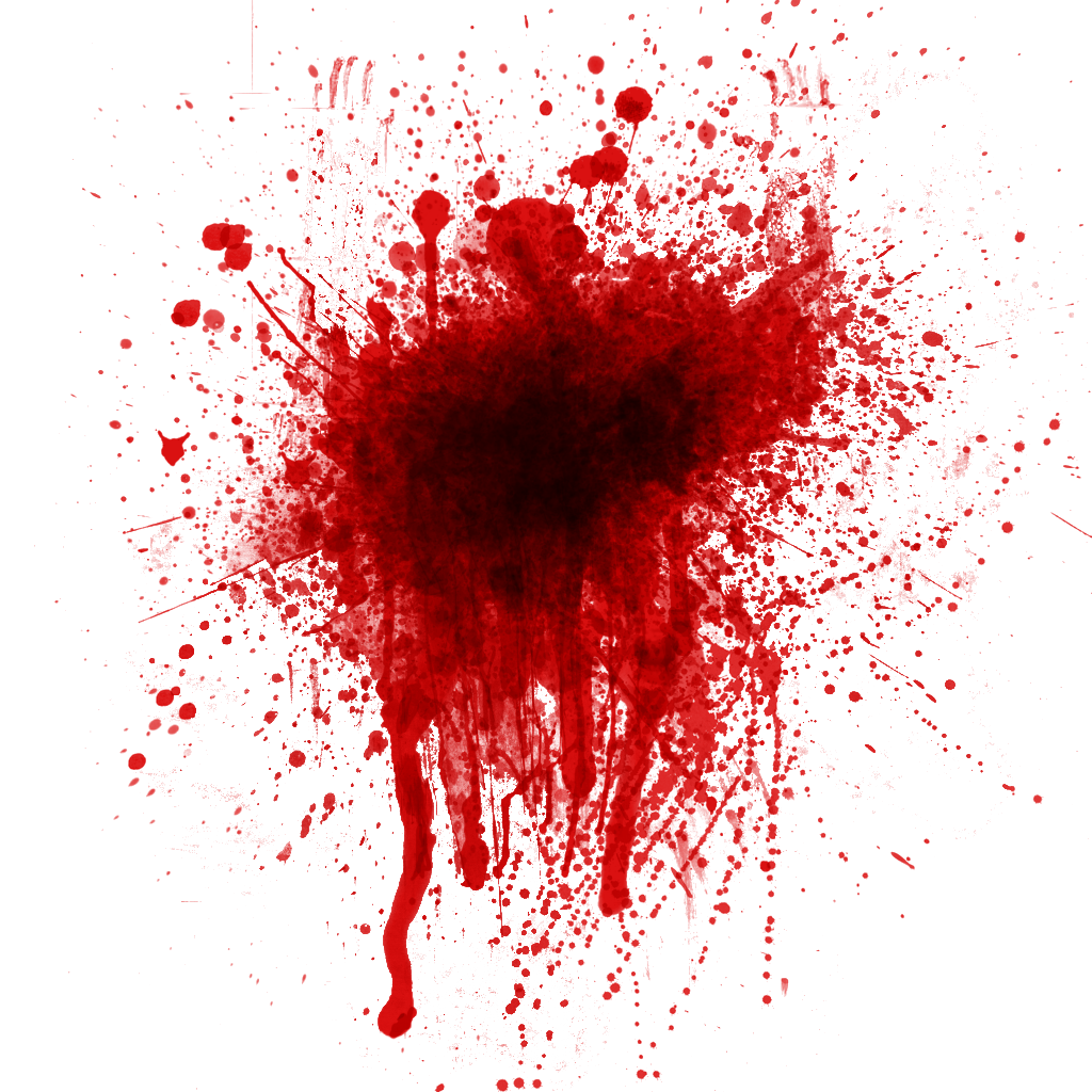 Splat . Clipart halloween blood