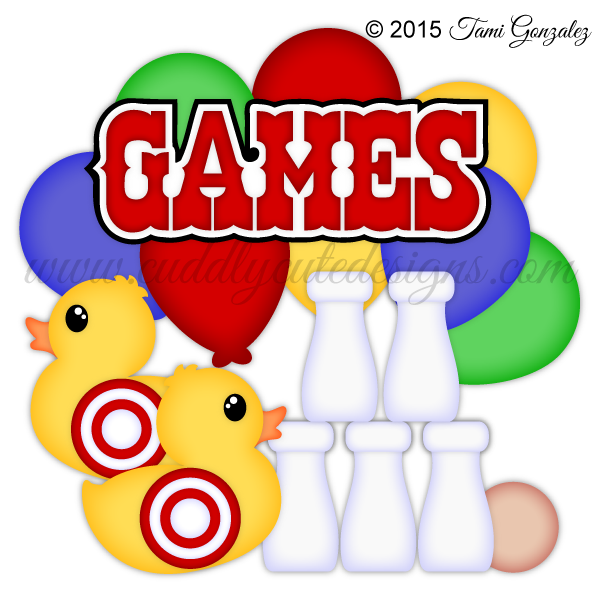 Carnival gamescarnival fun games. Game clipart school game