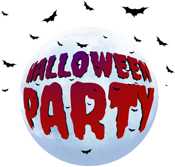 Party group png clip. Clipart halloween celebration