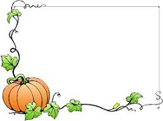 Free frame and clip. Clipart halloween corner