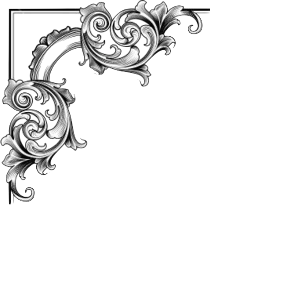 Corner free images at. Decoration clipart file