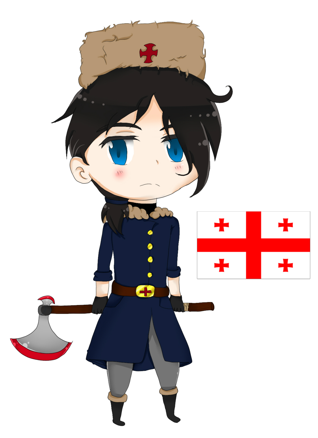 Aph georgia country by. Conflict clipart grudge