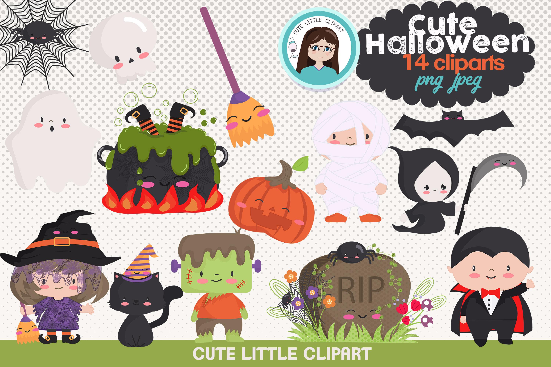 . Clipart halloween cute