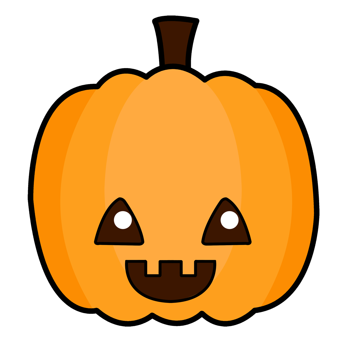 Jack o lantern . Clipart halloween cute