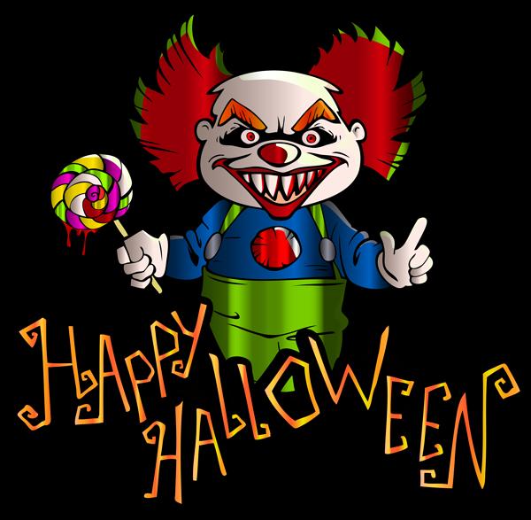 Happy spirit . Clipart halloween day