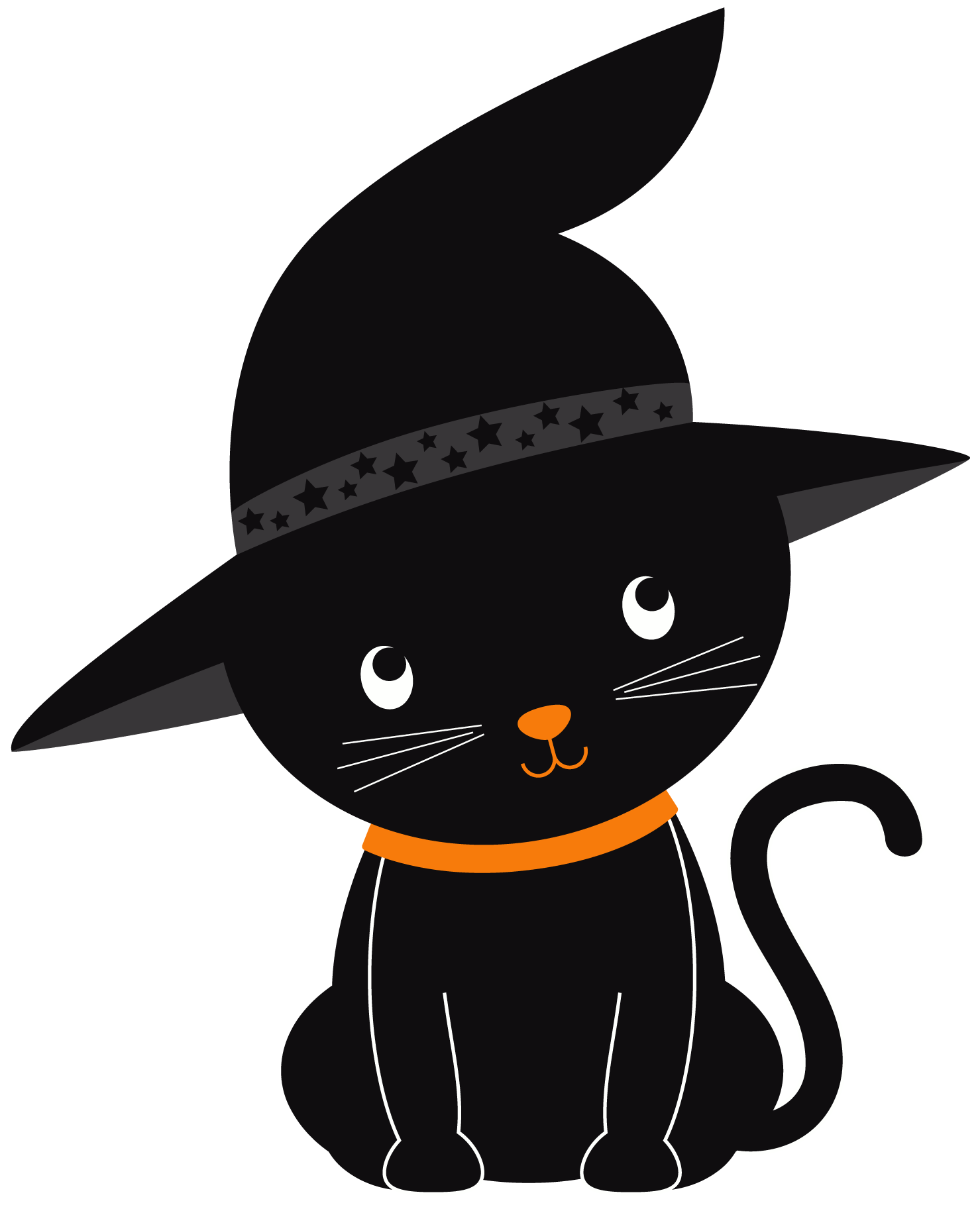 Halloween halloweenkittenclipartset id png. Witch clipart candy corn