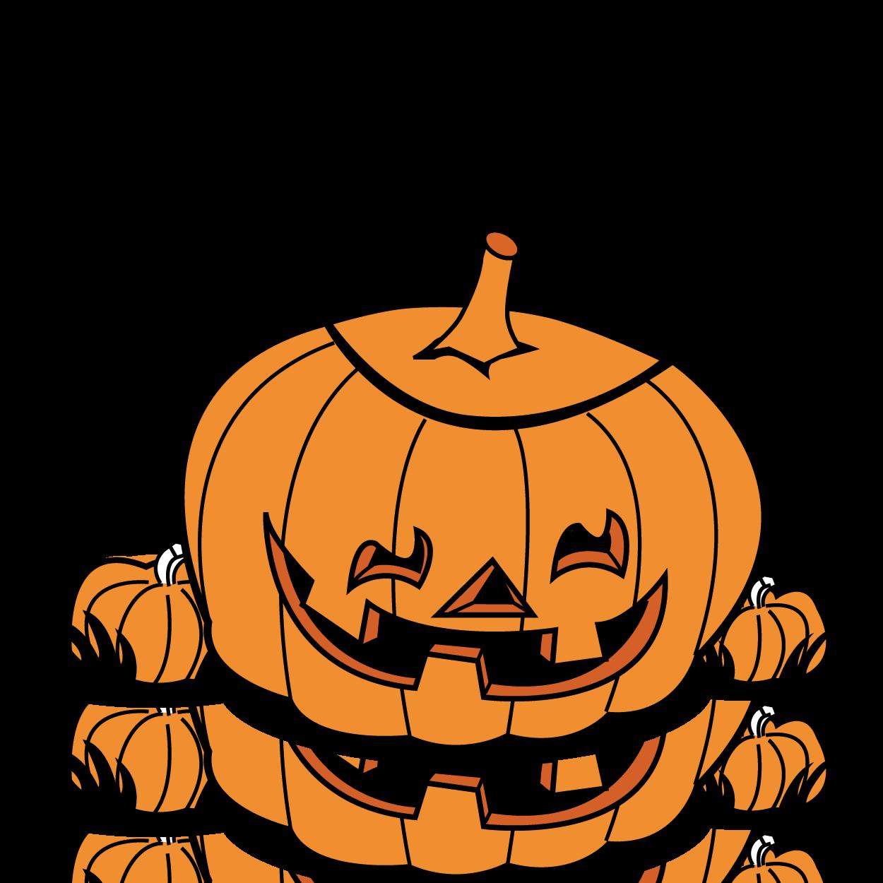 Halloween pumpkin border clip. Winter clipart peanuts