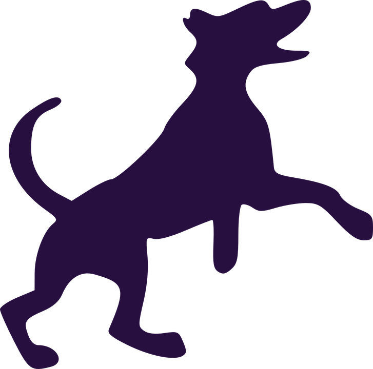 Collection of stick figure. Clipart halloween dog