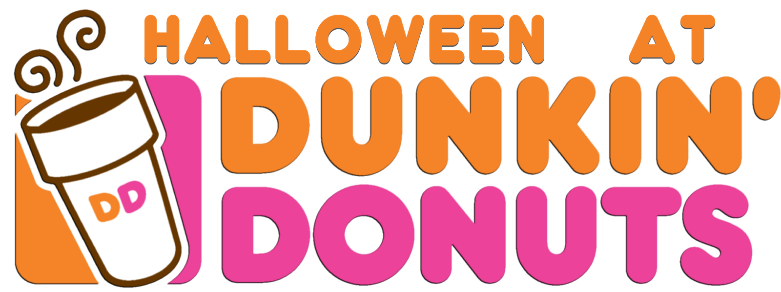 Clipart halloween donut. The holidaze at dunkin