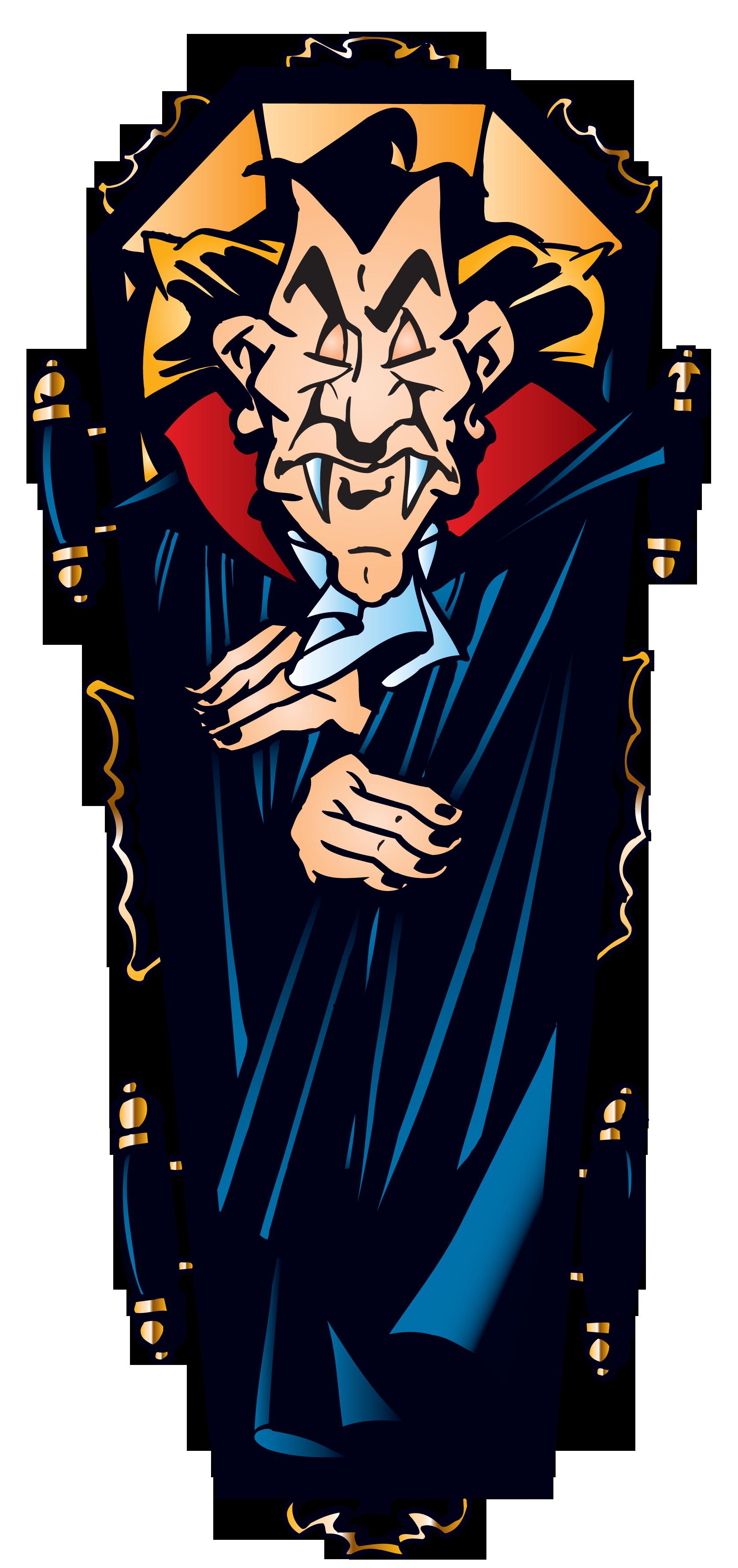 Vampire in png gallery. Coffin clipart halloween