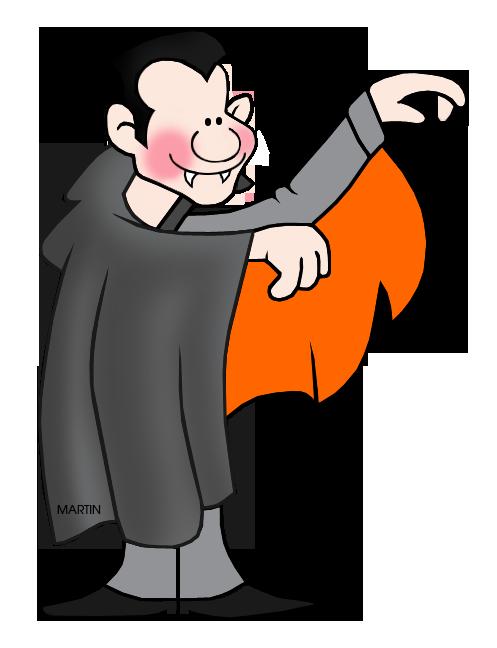 Halloween clipart vampire. Clip art by phillip