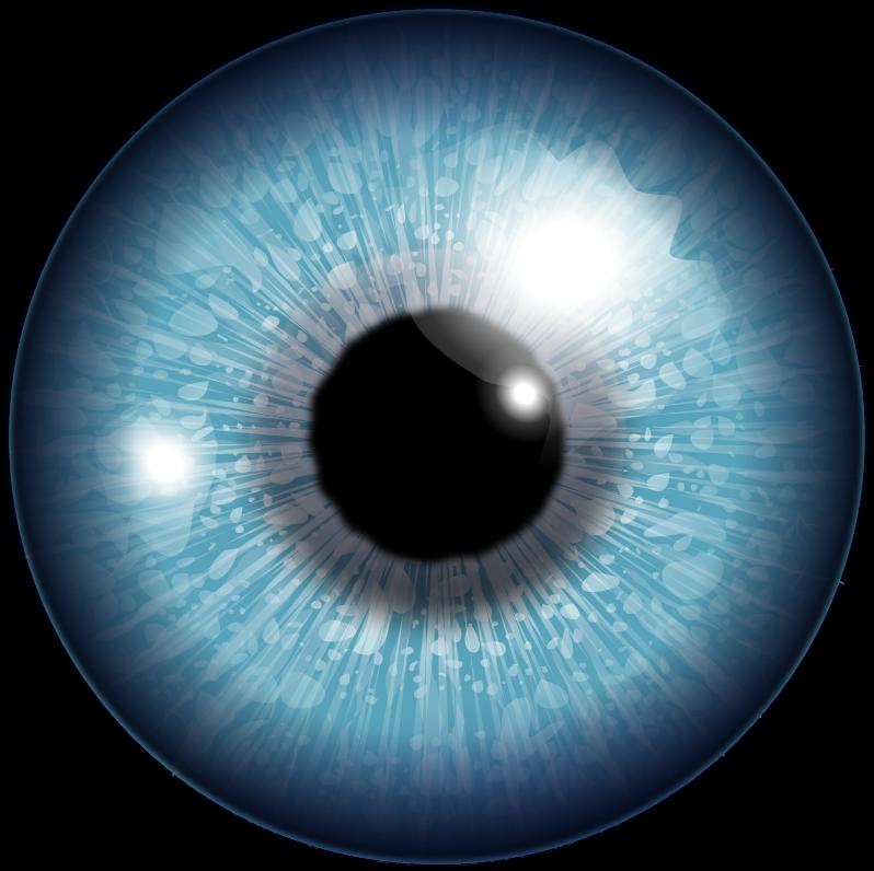 Human medium image png. Clipart halloween eyeball
