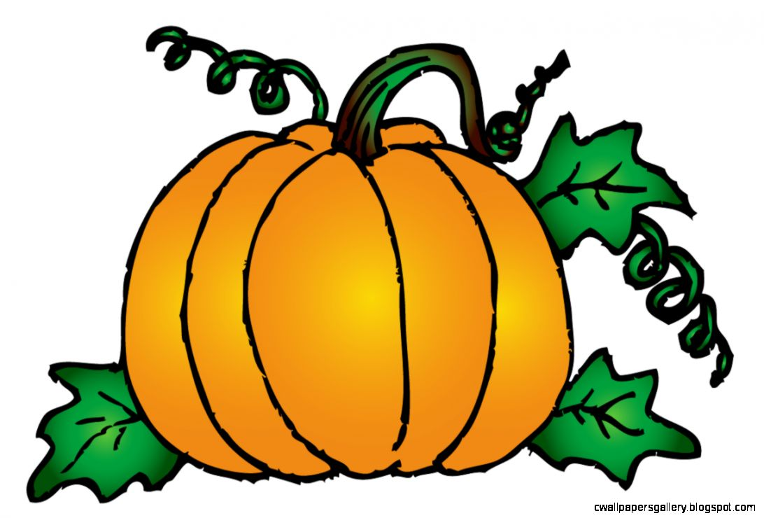 Pumpkin on happy scarecrows. Clipart halloween fall