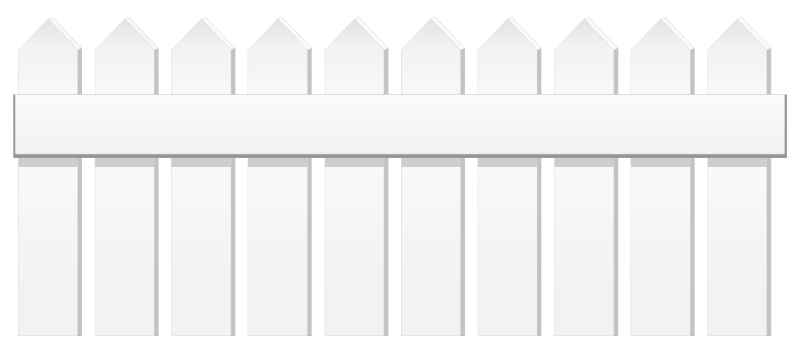 White png gallery yopriceville. Fencing clipart picket fence