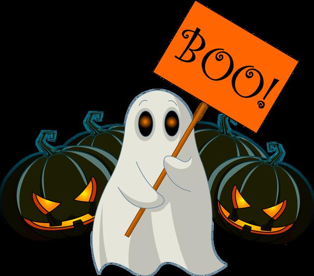 October halloween boo