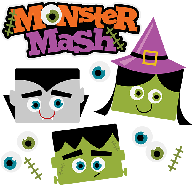 collection of monster. Festival clipart halloween