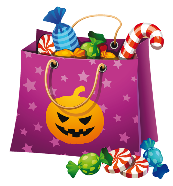 Png candy bag clip. Clipart halloween festival